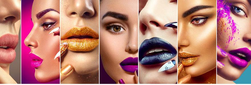 Choisir le maquillage suivant les couleurs